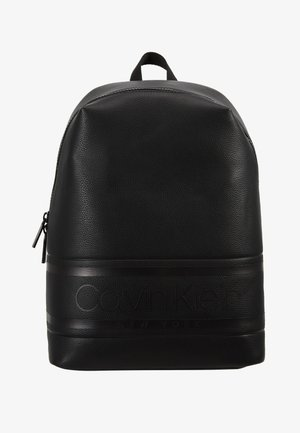 LOGO ROUND BACKPACK - Rucksack - black