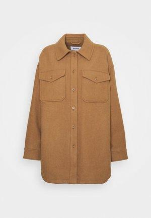 ARIES BLEND OVERSHIRT - Short coat - beige