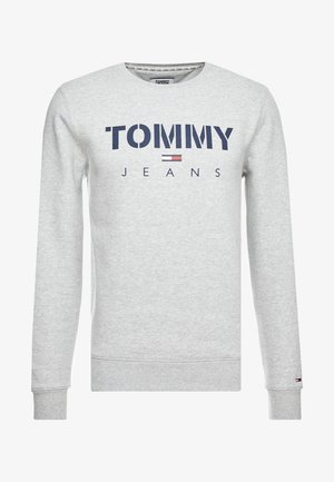 NOVEL LOGO CREW - Sweatshirt - light grey heatherr