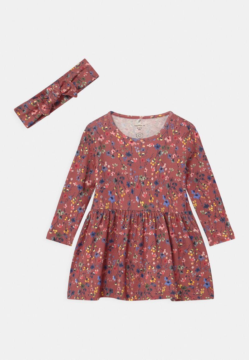 Name it - NBFTESSIE SET - Jersey dress - withered rose