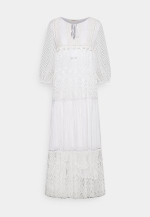 REGLISSE DRESS - Maksimekko - white