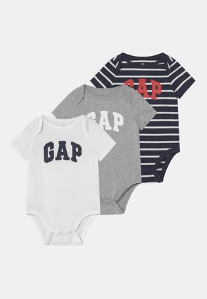 3 PACK UNISEX - Body - light heather grey