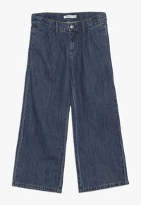 Name it - NKFBACULOTTA 7/8 WIDE PANT - Vaqueros boyfriend - medium blue denim - 0