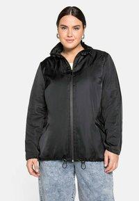 Sheego - Outdoor jacket - schwarz - 0