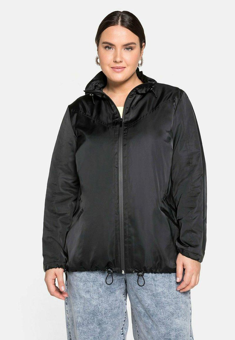 Sheego - Outdoor jacket - schwarz