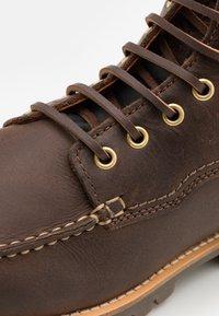 Lumberjack - HALLBERG - Šněrovací kotníkové boty - dark taupe/black - 5