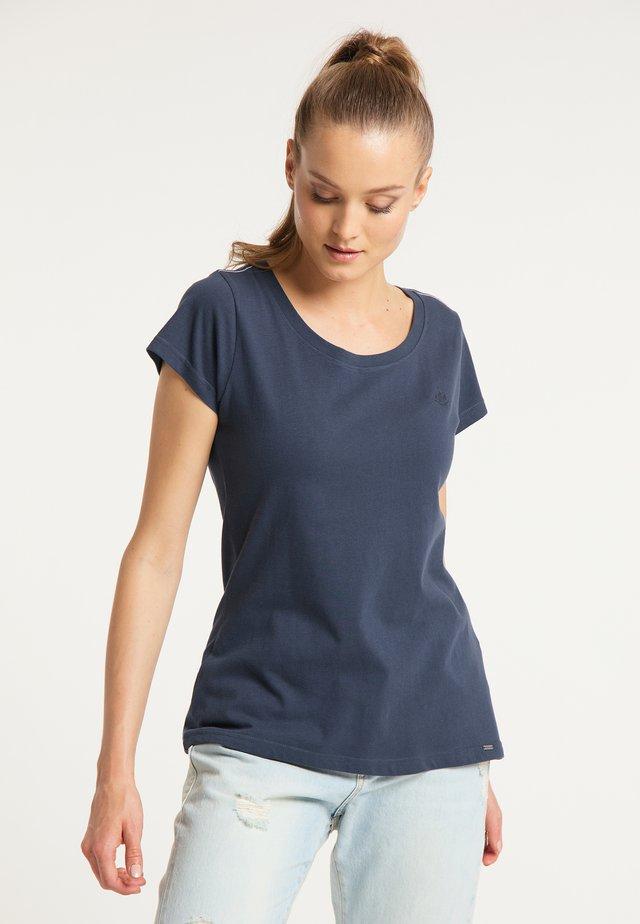 T-SHIRT - Jednoduché triko - blue