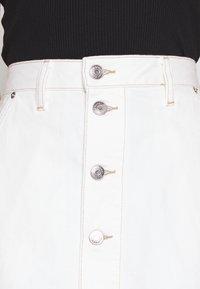 Tommy Jeans - SHORT SKIRT - Mini skirt - white - 4