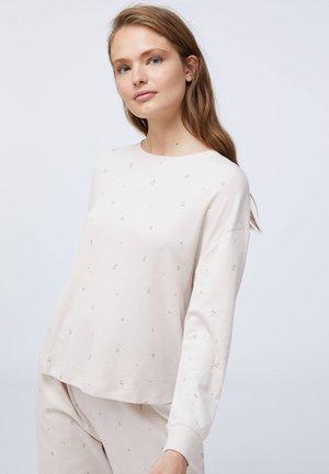 Pyžamový top - beige