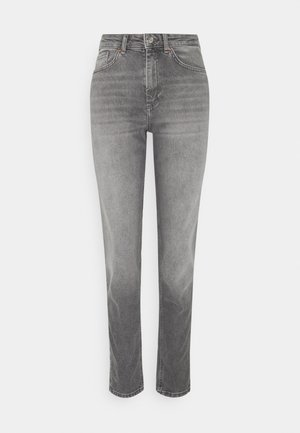 ONLVENEDA LIFE MOM - Jeans slim fit - grey denim