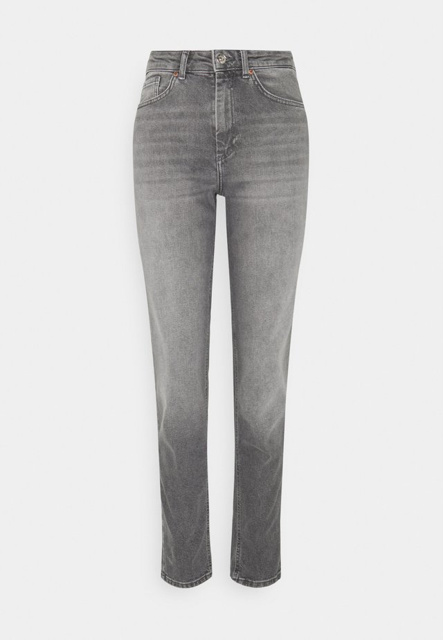 ONLVENEDA LIFE MOM - Džíny Slim Fit - grey denim