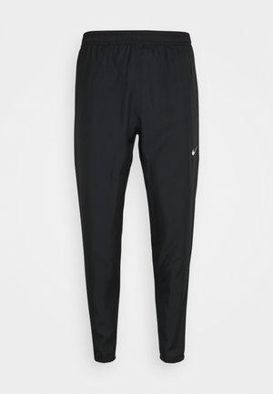 ESSENTIAL PANT - Pantalon de survêtement - black/reflective silver
