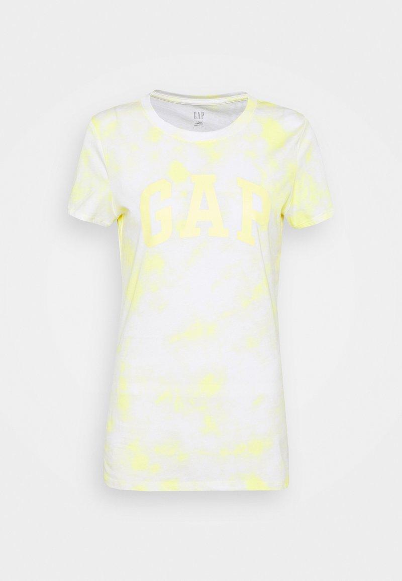 Gap Tall - TEE - Print T-shirt - yellow