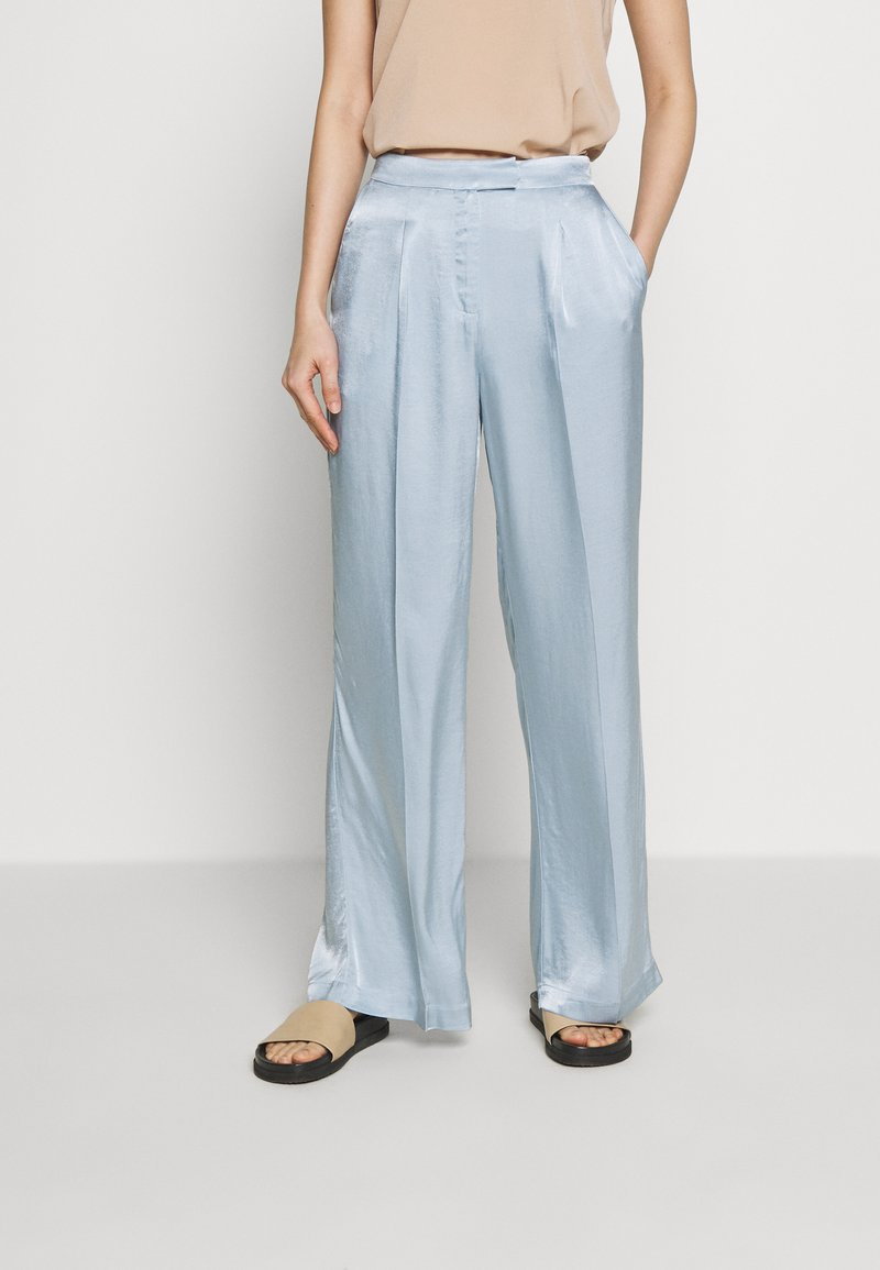 Bruuns Bazaar - SOFIA TELMA PANT - Pantalones - blue mist