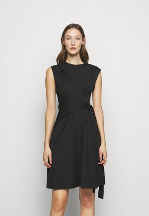 WRAPPED WAIST DRESS - Cocktail dress / Party dress - black