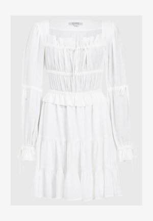 KIMI SHORT DRESS - Hverdagskjoler - white