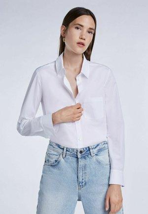 ELINA - Button-down blouse - bright white