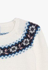 Petit Bateau - COLUMBIA - Stickad tröja - marshmallow/multicolor - 3