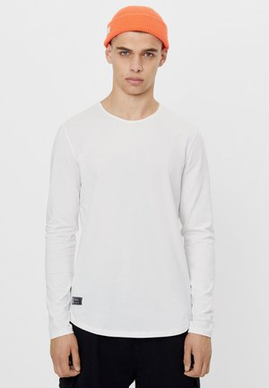 STRETCH - Long sleeved top - white