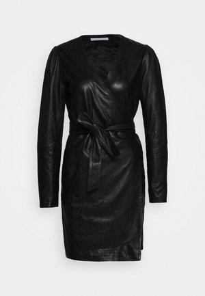 ELECTRA - Shift dress - black