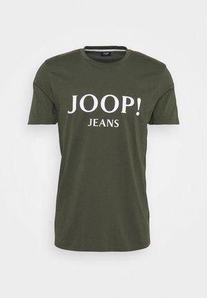 ALEX - T-shirt print - dunkelgrün