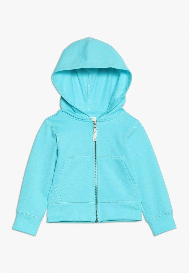 FULL ZIP HODDIE - veste en sweat zippée - frosty aqua