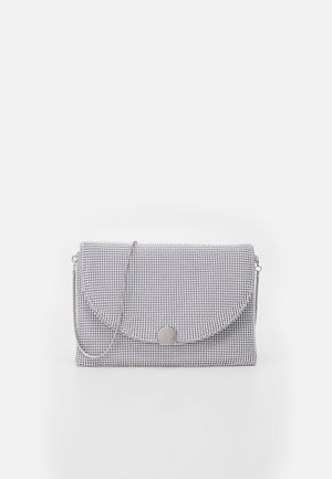 CROSSBODY BAG BALL - Pochette - silver-coloured