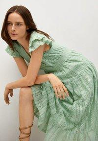 Mango - Day dress - pastelowa zieleń - 3