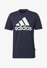 adidas Performance - MUST HAVES BADGE OF SPORT T-SHIRT - Print T-shirt - blue - 5