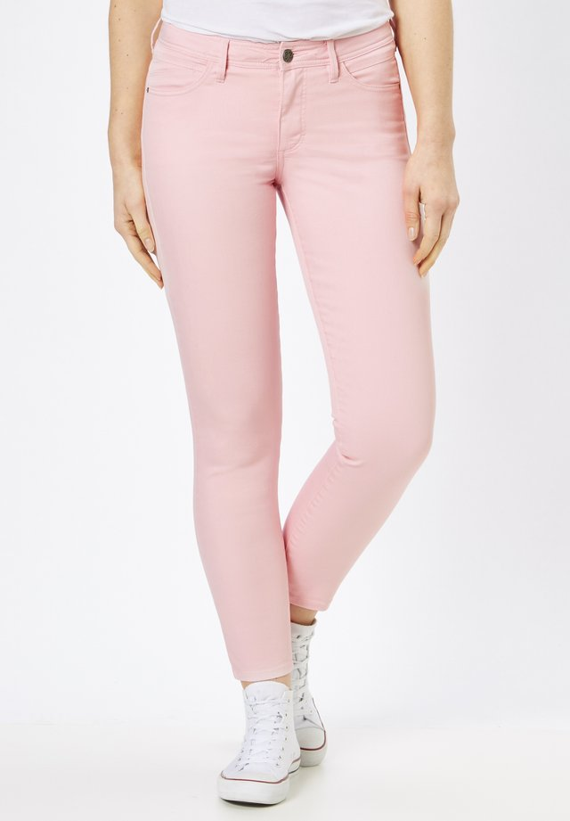 Trousers - pale rose