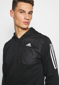 adidas Performance - AERO  - Zip-up hoodie - black - 3