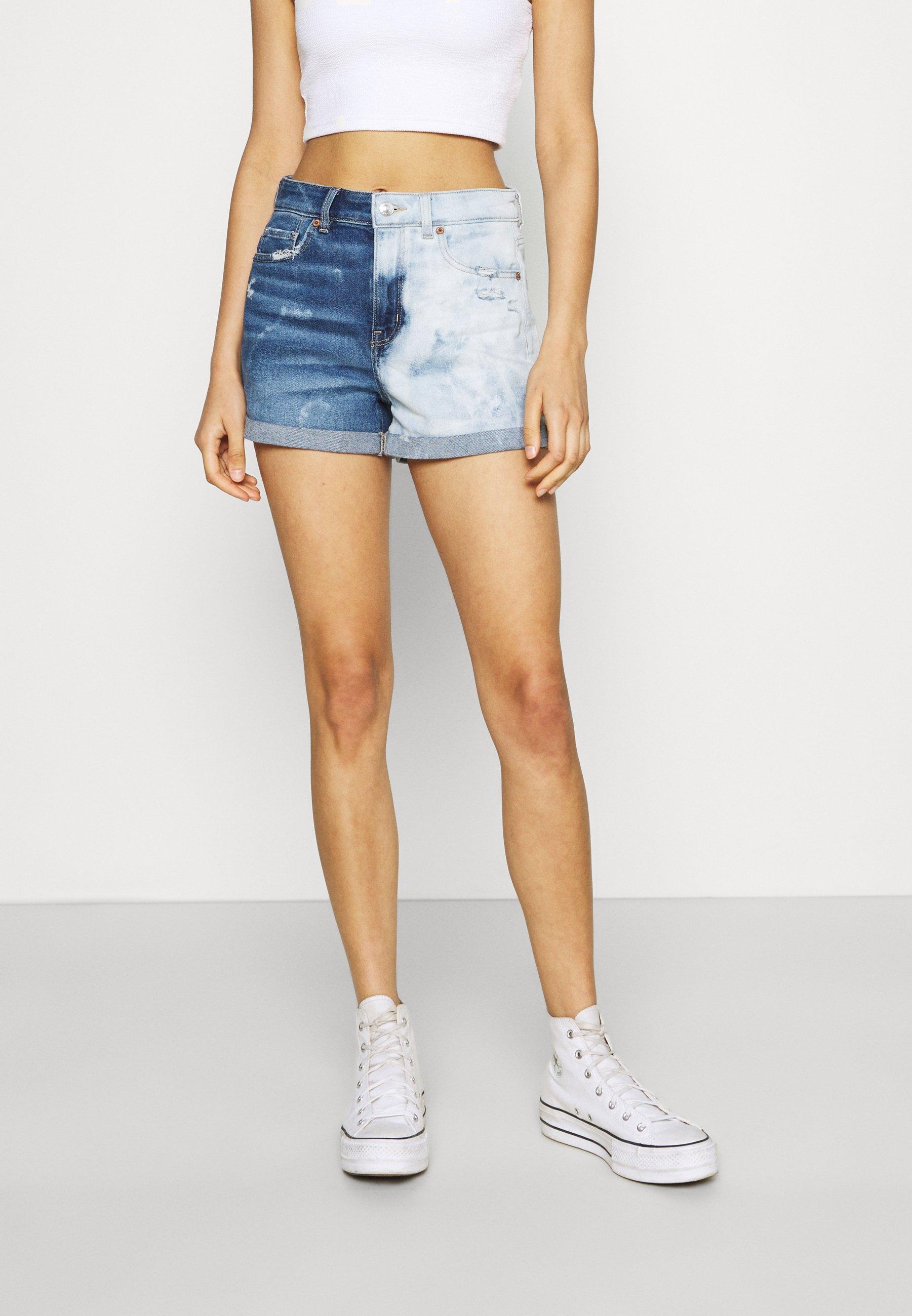Donna MOM - Shorts di jeans