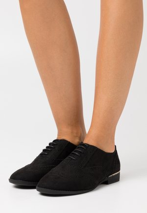 WIDE FIT JO - Lace-ups - black