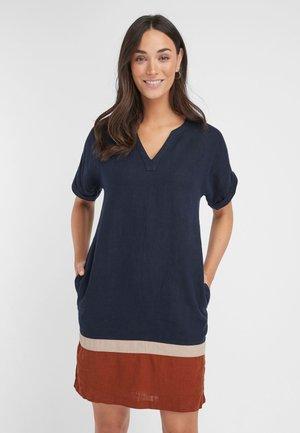 KAFTAN  - Day dress - mottled blue
