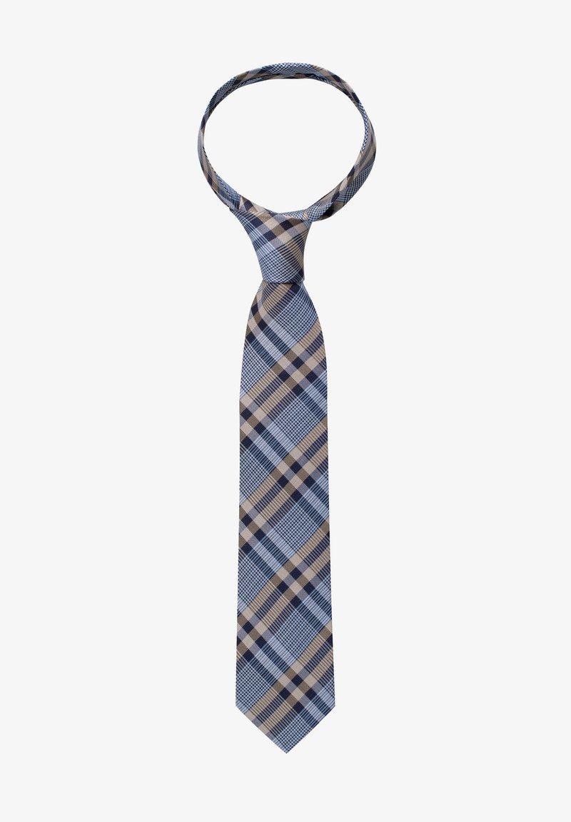 Eterna - Tie - blau/beige