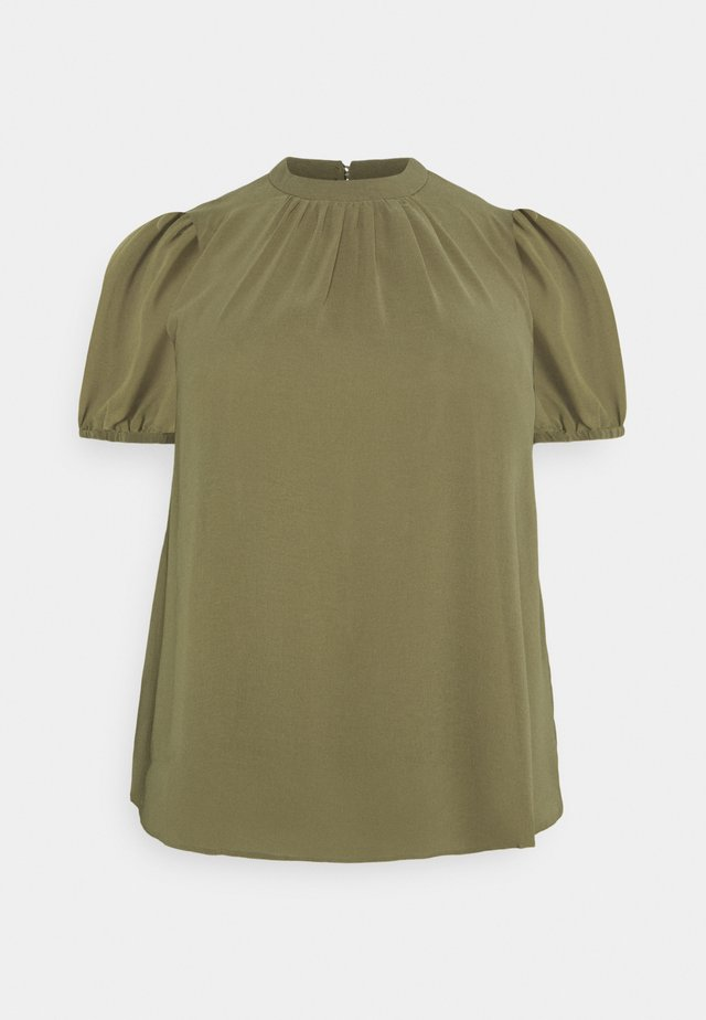 BILLIE PUFF SHELL - Basic T-shirt - green