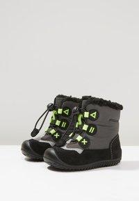 Elefanten - SMILE - Lace-up ankle boots - grey - 3