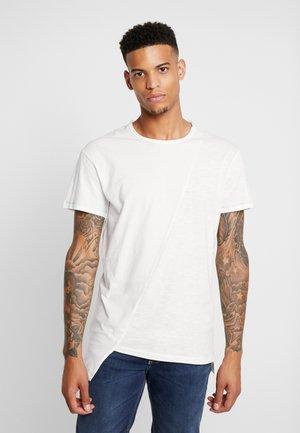 JORSON TEE CREW NECK - Basic T-shirt - cloud dancer