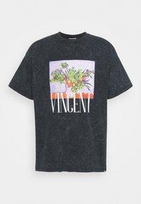 Vintage Supply - VASE PRINT TEE - Camiseta estampada - black - 3
