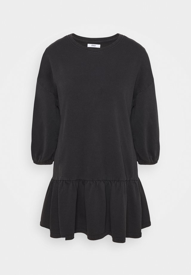 ONLDEA 3/4 TUNIC DRESS - Day dress - black