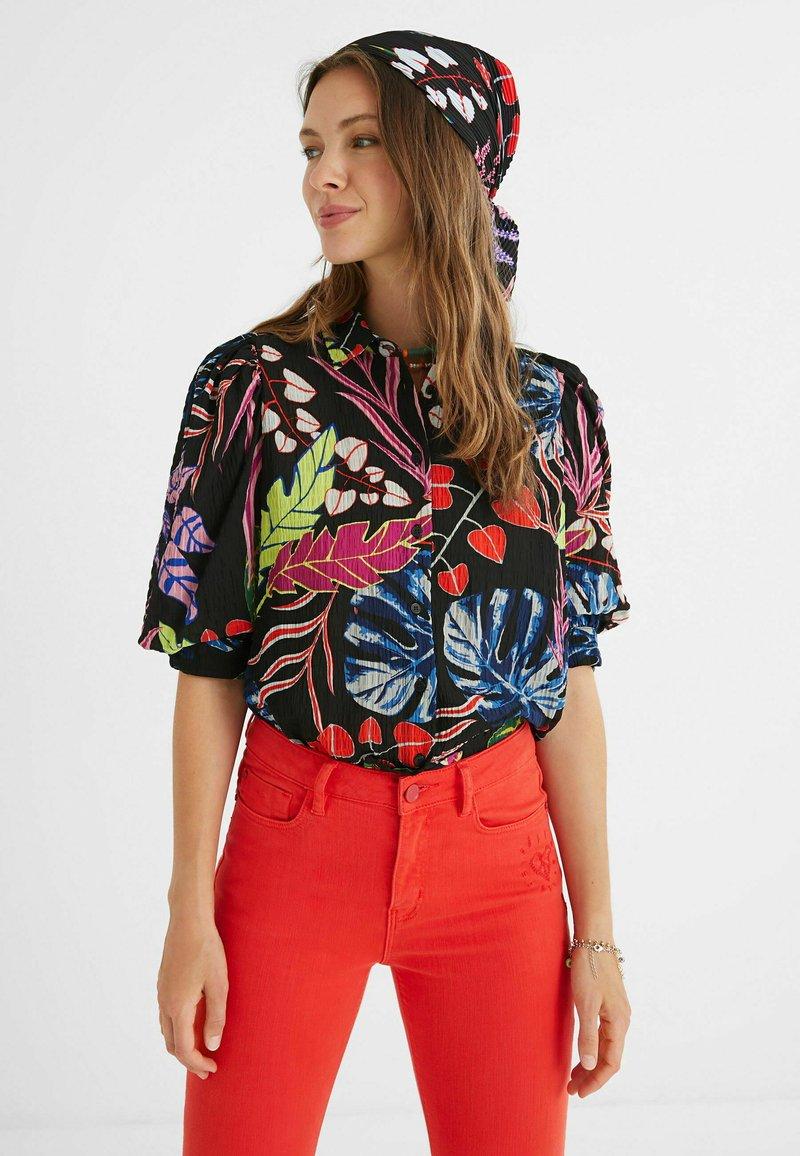 Desigual - Button-down blouse - black