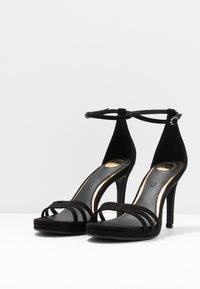Buffalo - MELISSA - Korolliset sandaalit - black - 4