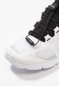 Salomon - AMPHIB BOLD - Hiking shoes - white/black - 5