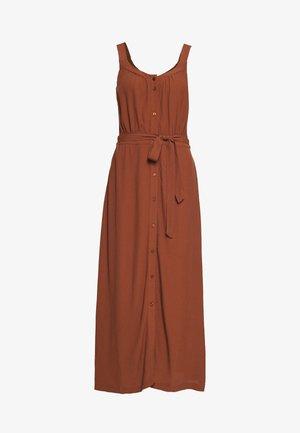 VMZAKYNTHOS STRAP 7/8 DRESS - Košilové šaty - tortoise shell