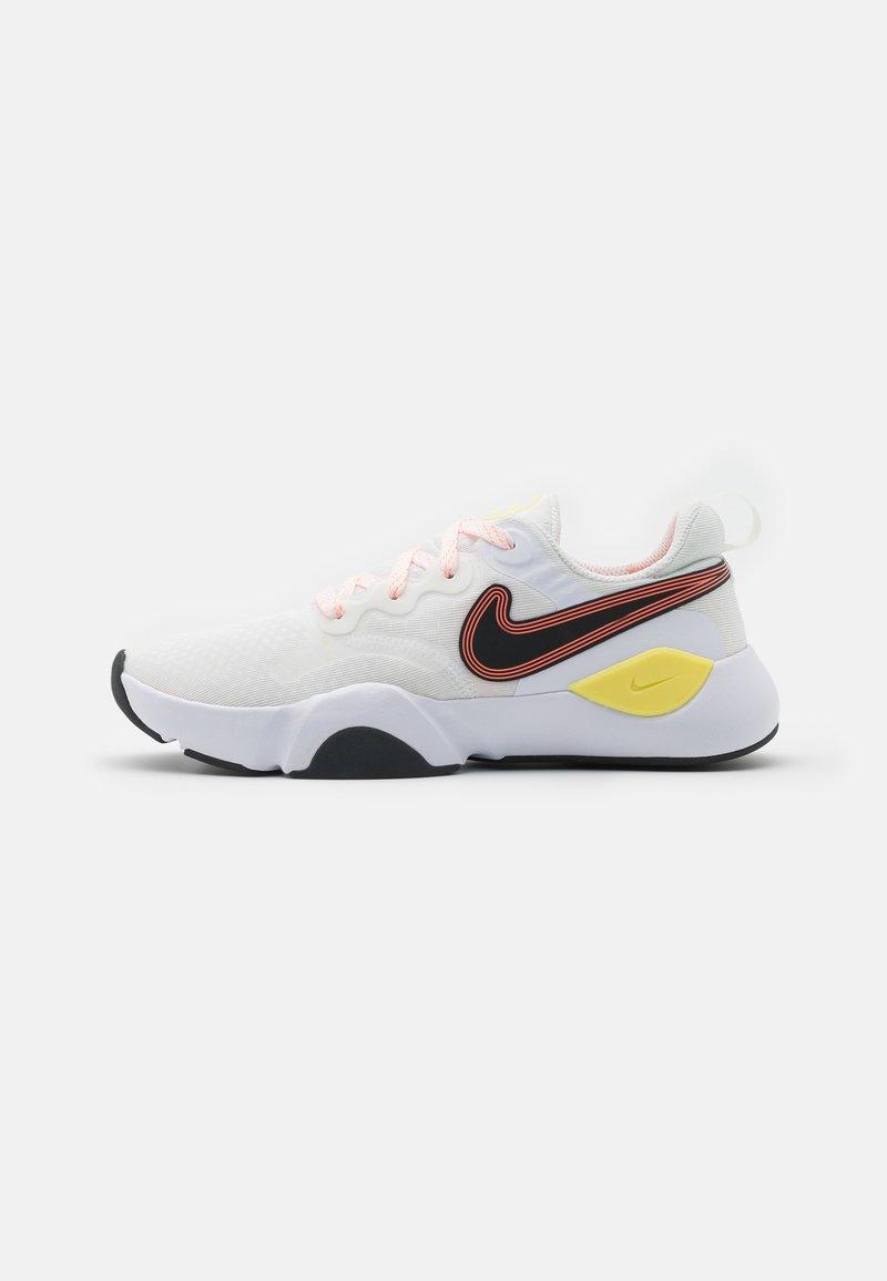 Nike Performance - SPEEDREP - Neutral running shoes - summit white/dark smoke grey/bright mango