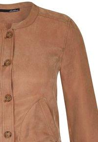 LeComte - UNIFARBENEM - Light jacket - braun - 2