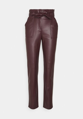 ONLDIONNE PANT - Trousers - fudge