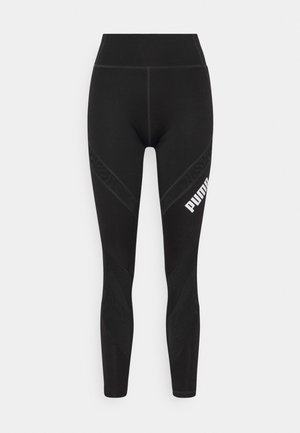 PAMELA REIF X PUMA COLLECTION MID WAIST - Legginsy - black