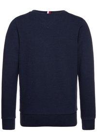 Tommy Hilfiger - INTARSIA  - Sweatshirt - blue - 1