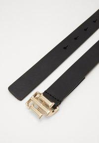 Tommy Hilfiger - LOGO BELT - Belt - black - 2